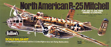 Guillow's North American  B-25 Mitchell Balsa Wood Model Airplane Kit GU-805
