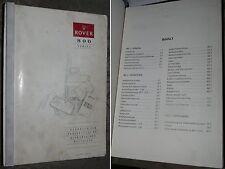 Rover 800 Serie Handbuch zur Fehlersuche bei elektrischen Bauteilen AKM6687