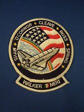 NASA Space Shuttle Mission STS-61-B Atlantis Embroidered Iron On Patch Large