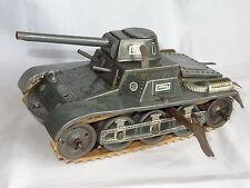 GESCHA West Germany  PANZER TANK TINPLATE WINDUP C1930'S