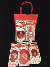 Jelly Belly Car Air Freshener RED Gift Set Very Cherry Scent Christmas XMAS Gift