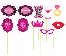 Hen Night Party Photo Props Photo Booth Bachelorette Party Photo Props Games