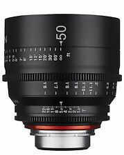 New Rokinon Xeen 50mm T1.5 Cine Full Frame Lens for 4/3 CANON NIKON PL SONY
