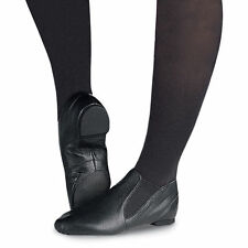 Capezio CG05A Adult Size 11W Black Slip On Jazz Boot