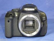 FOTOCAMERA DIGITALE CANON EOS 600D CORPO 18 MPX 16000 SCATTI POSSIBILE SCONTO