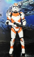 STAR WARS UTAPAU CLONE TROOPER ACTION FIGURE SAGA COLLECTION + WEAPON  2005