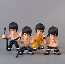 Kung Fu Master Bruce Lee Q Versions PVC Action Figure Collectors Edition Toy