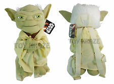 "STAR WARS PLUSH BACKPACK! YODA GREEN SOFT DOLL FIGURE DISNEY 14"" NWT"