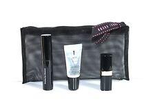 NIB Bobbi Brown on the Go Black Mesh Cosmetic Makeup Bag, Lipstick,Mascara,Gloss