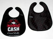 JOHNNY CASH Country Rock OFFICIAL OUTLAW Baby Infant Toddler VINYL POLYESTER BIB