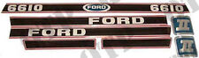4718 Ford New Holland Decal Ford 6610 Force 2 Red & Black