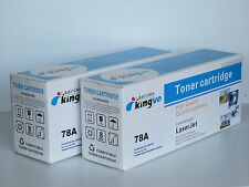 2PK Comaptible Toners for HP 78A CE278A fits HP LarserJet P1566 P1606dn M1536