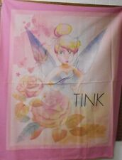 """1 Disney Tinkerbell """"All the Stars In the Sky"""" Wall/Lap Quilt Panel Fabric"""