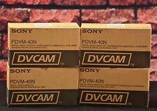 Sony PDVM-40N  Mini DV Cam Tapes -4X Box of 10