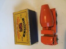 FODEN CEMENT MIXER AUTOCARRO ORIGINALE OLD MATCHBOX LESNEY TOY AUTO & casella YS
