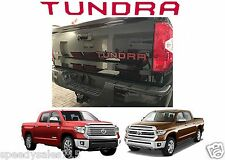Red Tailgate Letter Inserts For 2014-2016 Toyota Tundra New Free Shipping