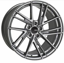 17x8 Enkei Rims TD5 5x114.3 +45 Storm Gray Wheels (Set of 4)
