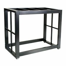 Durable Solid Steel 40 Gallon Metal Fish Water Tank Aquarium Stand Holder Black