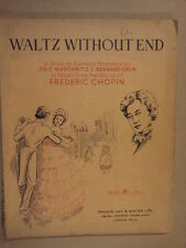 vocal score WALTZ WITHOUT END Maschwitz, Grun, Chopin