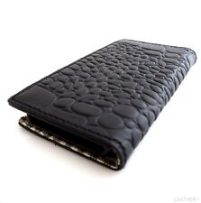 genuine full leather case for iphone 4s cover s 4 book wallet crocodile Design U