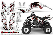 YAMAHA RAPTOR 660 GRAPHICS KIT CREATORX DECALS STICKERS DRAGON FURY RW