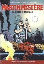 MARTIN MYSTERE VOLUME 5: LA MORTE DI CRISTALLO EDIZIONE SERGIO BONELLI
