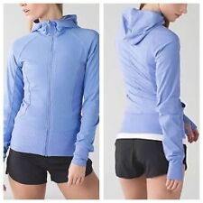 NWT Lululemon In Flux 4-way Stretch Jacket, Run-Yoga-Studio-Dance, Periwinkle, 8
