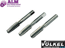 "1/4"" BSP G HSS 3pcs Tap Set (Plug,Sec & Taper) Made by Volkel, Germany"