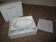NEW IN BOX OEM APPLE 60W MAGSAFE POWER ADAPTER LAPTOP CHARGER