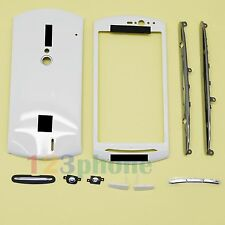 BATTERY COVER + CHASSIS + FULL HOUSING FOR SONY XPERIA NEO MT15i #H-454_WHITE