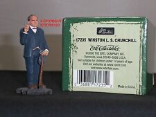 BRITAINS 17235 SIR WINSTON CHURCHILL PRIME MINISTER METAL TOY SOLDIER FIGURE