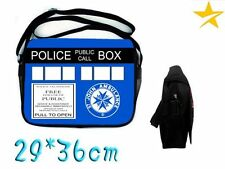 BORSA TRACOLLA DR DOCTOR DOTTOR WHO THE TARDIS POLICE PHONE SACCA ZAINO BAG #1