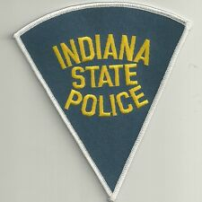 """STATE POLICE *INDIANA*  """"grau"""" Staats-Polizei Abzeichen Patch Highway Patrol  IN"""
