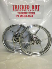 2008 2009 2010 Kawasaki ZX10 Factory Chrome Rim EXCHANGE 08 09 10 zx10 CHROME