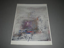 Nissan Engel ART  signed autograph Autogramm 8x11 inch photo in person
