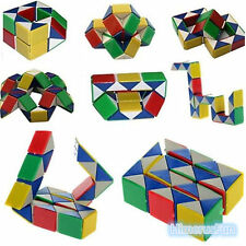 Snake Rubiks Rubix Rubic Magic 3D Cube Game Puzzle Toy Party Child Boys Giirls