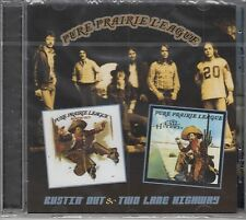 Pure Prairie League -Bustin' Out & Two Lane Highway, CD neu