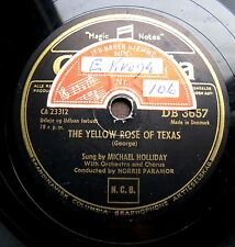 0147/ Michael Holliday-The yellow rose of texas-country-Stein song-Schellack