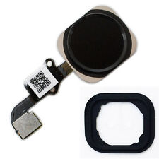 iPhone 6 Home Button Flex Kabel ID Sensor Touch Ersatz Menü Taste Gummi schwarz