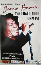JAMES BROWN 1999 UNIVERSITY OF MEXICO CONCERT TOUR POSTER - Godfather Of Soul