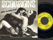 "SCORPIONS Still Loving You 7"" SINGLE As Soon As The Good Times Roll 1984"