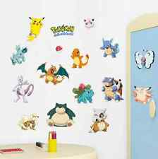 Hot Pokemon Peel and Stick Wall Decals Sticker Vinyl Mural Kids Room Decor UK