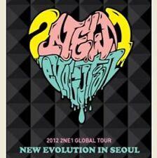K-POP 2012 2NE1 GLOBAL TOUR LIVE DVD NEW EVOLUTION IN SEOUL (2DVD) SEALED