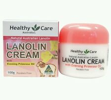 2× Healthy Care Lanolin Cream With Evening Primrose Oil 100g - OzHealthExperts
