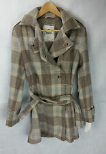 Womens Ladies Timberland Coat Jacket double breasted UK size 12