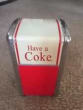 Have A Coke Napkin Dispenser Holder Coca-Cola 1992 Palmer Products Nice!