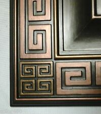CHECK OUT!  NEW HAND PAINTED MEDITERRANEAN CEILING MEDALLION WALL HOME DECOR 18