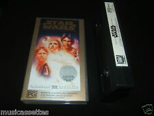 STAR WARS SPECIAL EDITION AUSTRALIAN VHS MOVIE PAL VIDEO