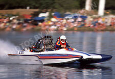 DRAG RACING DRAG BOAT PHOTO TOP FUEL HYDRO DEXTER TUTTLE NITRO EXPRESS 1984