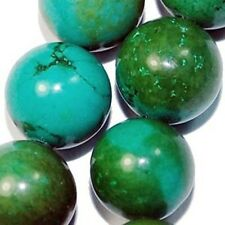 """8mm blue  natural Turquoise round beads 16"""""""